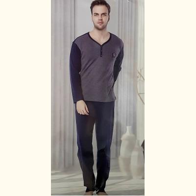 Мужская пижама, трикотажный костюм Ercan Interlok (13045)